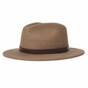 """BRIXTON """"Messer Fedora"""" Western Felt Hat"""